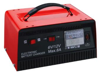 Batterilader 6V/12V 8Ah