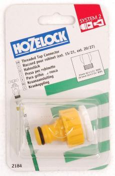 """Krankobling 1/2-3/4"""" Hozelock"""