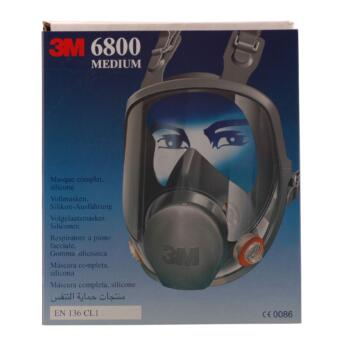 Helmaske 3M 6800S Medium